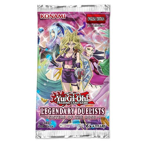 Yu-Gi-Oh! LED4 Legendary Duelists Sisters of The Rose Booster Pack