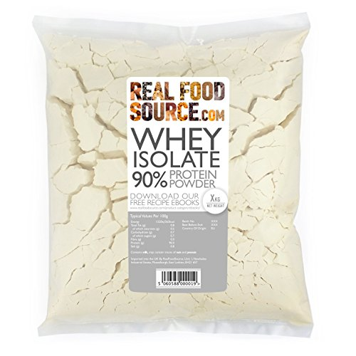 RealFoodSource EU Whey Protein Powder Isolate 90 1KG