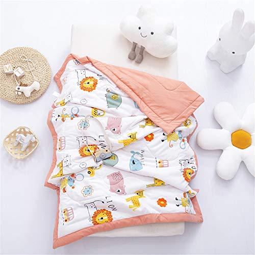 * ZTBANG®10% Off Japanese Sommerdecke, Superweich Baumwolle Kuscheldecke, Zwei Lagen Decke Pucktüche für Kinder und Erwachsene A/C Room Hotel Einfaches Plaid 120x150cm