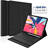TORUBIA for iPad Pro 12.9 inch 2020/2018 Keyboard Case, [Support Apple Pencil Charging] [with Pencil Holder]...