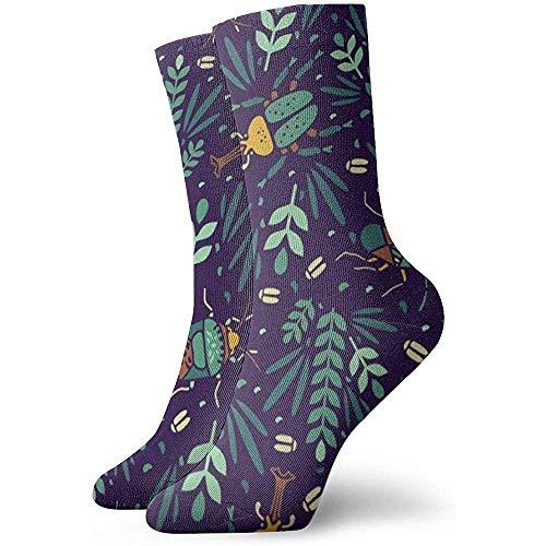 NA Insecten kever art jurk sokken grappige sokken gekke sokken casual sokken voor meisjes jongens