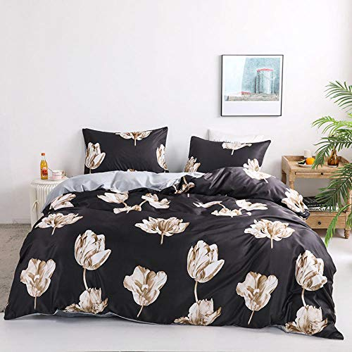 geek cook Four-piece bed,Washed silk simple four-piece set, silky nude, double-sided ice silk duvet cover, 3pc bedding-wave_1.8m (6 feet) bed