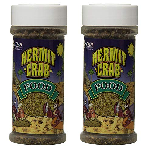 Florida Marine Research SFM00005 Hermit Crab Food, 4-Ounce (4-Ounce 2-Pack)