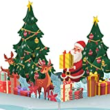 PaperCrush® Tarjeta de Navidad desplegable – Tarjeta de N