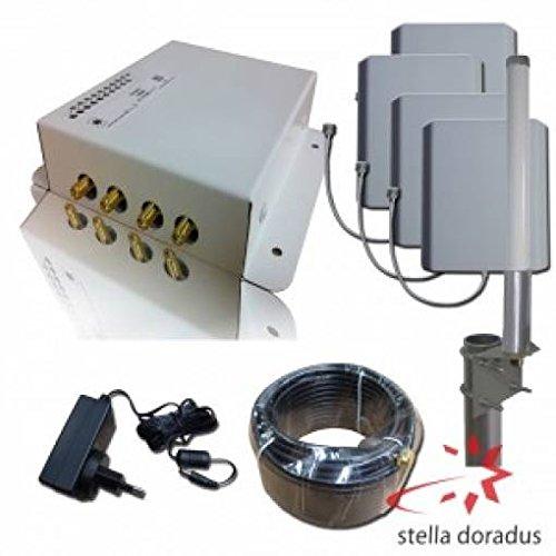 Verstärker Repeater stellaoffice UMTS 3G HSDPA 4000qm 2100MHz großen Gebäuden
