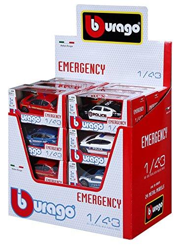 Bburago Maisto Francia 30074Street Fire Emergency–Scala 1/43–Modello Casuale