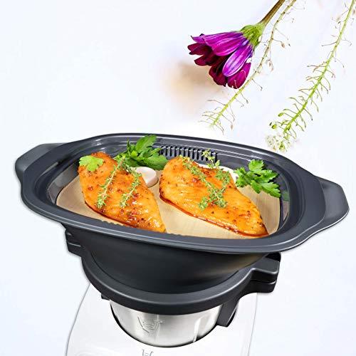 coolina® Dampfgar-Folie passend für den Einlegeboden des Monsieur Cuisine Connect MCC