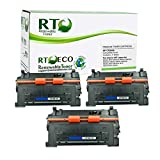 Renewable Toner Compatible Toner Cartridge Replacement for HP 81A CF281A Laserjet Enterprise M630z Flow MFP M604 M605 M606 M630 (Black, 3-Pack)