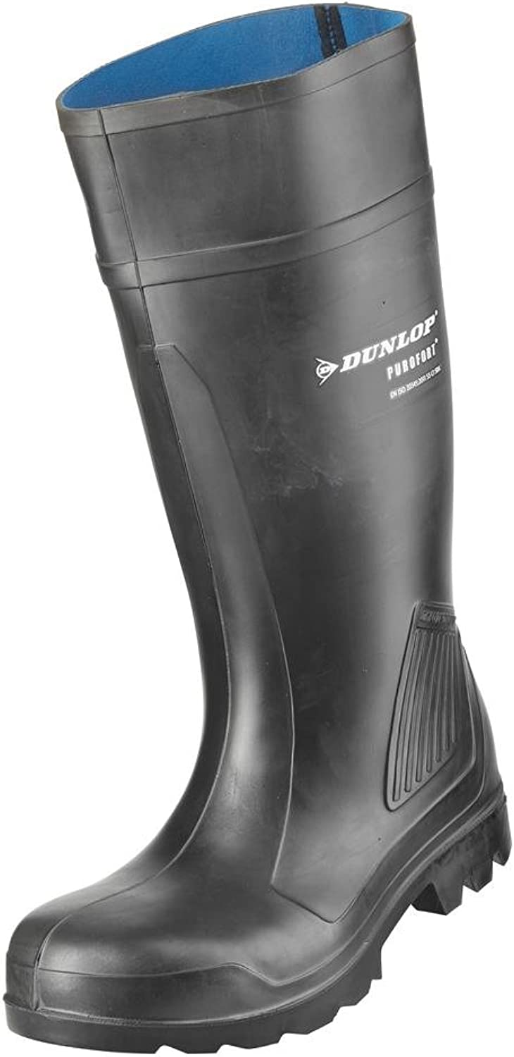 Dunlop Purofort C462041 Safety Wellington Boots Steel Toe Cap S5 Work Footwear