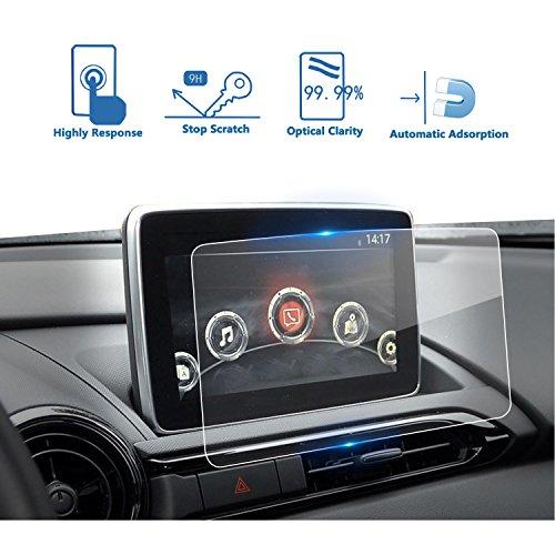 LFOTPP 2016-2019 2020 Mazda CX-3 MX-5 7 pulgadas MZD Connect Protector de visualización de navegación…