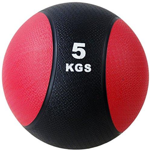 BodyRip Unisex 5kg Bounce Rubber Balls, Red, Medium