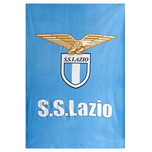 Coperta plaid invernale in pile S S Lazio ufficiale 160x240 M163