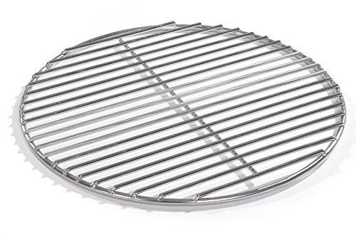 Barbecue rond en acier inoxydable V2A - 50 cm - Pour braseros, braseros, barbecues ronds