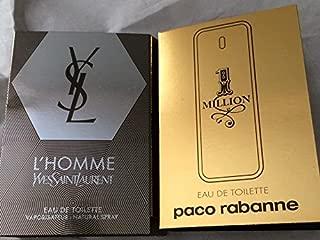 Mens Designer Fragrance 2pc Sampler