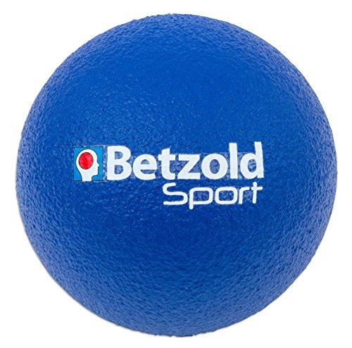 Betzold Softball blau - Kinder-Softball, Soft-Bälle, Kinder-Ball Schaumstoff, Schaumstoffball weich...