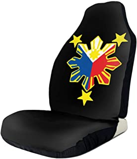 UlNight Car Seat Cover Philippine Flag Universal Easy Install Front Seats Protectors