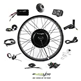 """7. EBIKELING 48V 1200W 26"""" Fat Direct Drive Rear Waterproof Electric Bicycle Conversion Kit (Rear/LED/Thumb)"""