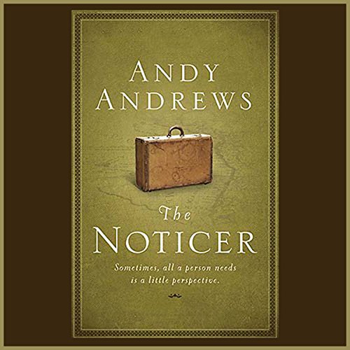 The Noticer audiobook cover art