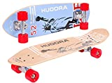 HUDORA Longboard Skateboard Cruiser - ABEC 7 - Skateboard - 12801
