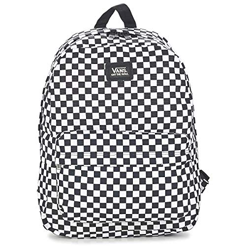 Vans SS20 Alter Rucksack DER Skool III OS Black-White Check one Size, VN0A3I6RHU01