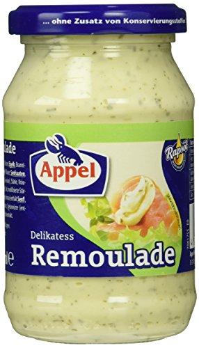 Appel Delikatess Remoulade, 12er Pack Gläser, Remoulade mit Rapsöl