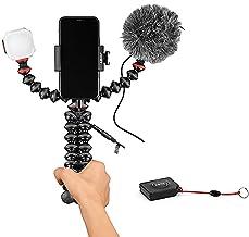 JOBY GorillaPod Mobile Vlogging Kit with Bluetooth Impulse Remote, Smartphone Gimbal Holder, Flexible Tripod, with Wavo Mo...