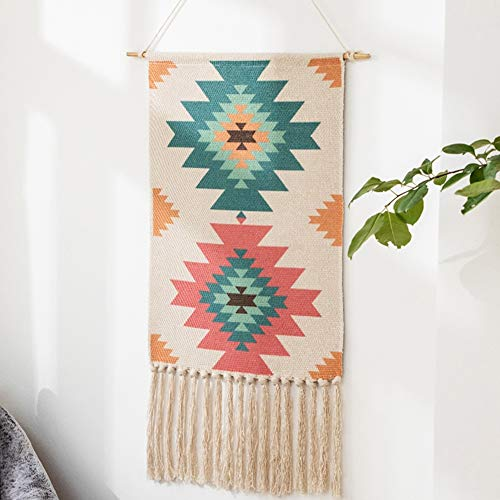 Tejidas a Mano en Telar de Arte decoración de la Pared Arte de la tapicería nórdica Tapiz cabecera del Dormitorio de Fondo de Tela de Yoga Meditación Estudio Decoración del Aula
