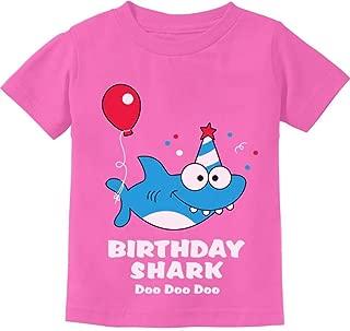 Birthday Shark Doo doo Song Funny Gift Toddler Kids T-Shirt