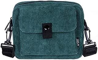 SODIAL Fashion Cashmere Shoulder Messenger Bag Wild Casual Small Bag Student Small Square Bag Dark Green