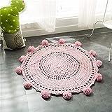 GRENSS Nueva Ronda de Ganchillo alfombras y tapices decoración de habitación...