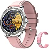 Smart Watch for Android iOS Phones, Fitness Tracker Smartwatch Compatible iPhone Android Samsung, Waterproof Smartwatch for Men Women, Fitness Tracker with Heart Rate Monitor Couple Smart Watches.
