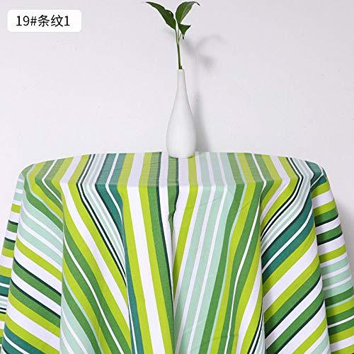 Canvasstof, tafelkleed met dierenprint, dik katoen en linnen stof-19
