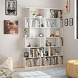 Zoom IMG-2 homfa scaffale libreria mobile soggiorno