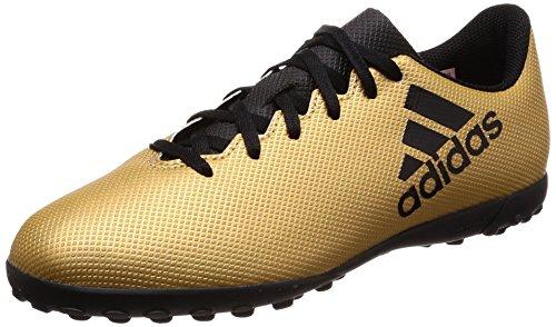 Adidas X Tango 17.4 TF J, Botas de fútbol Unisex Adulto, Amarillo (Ormetr/Negbas/Rojsol 000), 38 2/3 EU