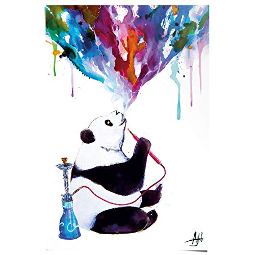 REINDERS Panda Shisha - Poster 61 x 91,5 cm