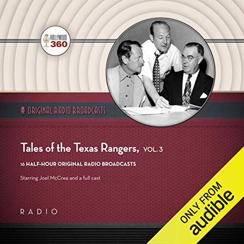 Tales of the Texas Rangers, Vol. 3 audiobook cover art