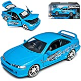Hon-da Acura Integra DC2 Coupe Blau Mia The Fast and The Furious 3. Generation 1993-2001 1/24 Jada Modell Auto