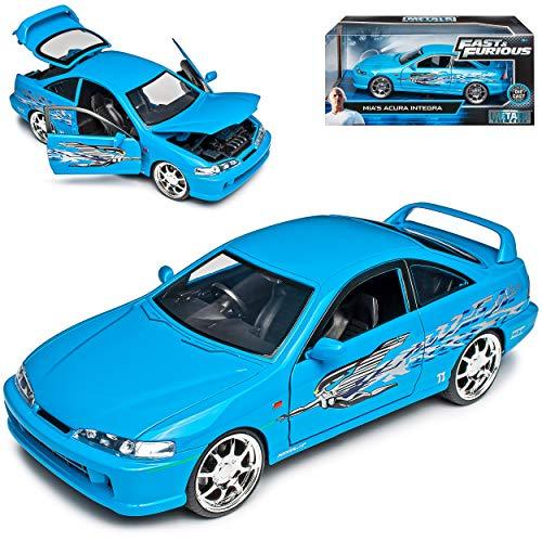 Hon-da Acura Integra DC2 Coupe Blau Mia The Fast and The Furious 3. Generation 1993-2001 1/24 Jada Modell Auto