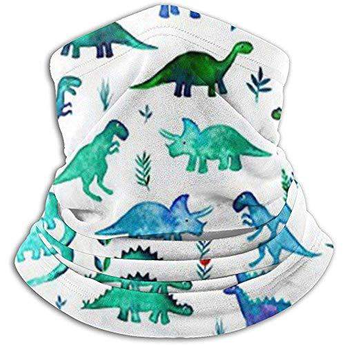 Olive Helin(a) Dinosaurier Stoff kleine Dinos in blau und grün Neue heiße Art Adult Neck Headwear Stirnband Magic Scarf Nahtlose Bandanas