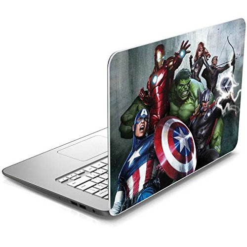 Skinit Decal Laptop Skin for Chromebook 14-x010nr - Officially Licensed Marvel/Disney Avengers Assemble Design
