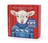 The Somerset Toiletry Seife mit winterlichem Tiermotiv Schaf Dotty 150 g