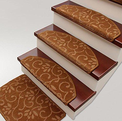 WTL Tappeto Pad Scala/Stile Europeo Antiscivolo Pad Scala di Spessore (Colore : 1*(Single), Dimensioni : 65cm*24cm)