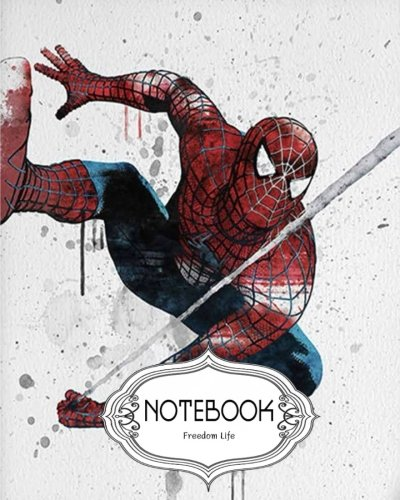 Notebook Journal Dot-Grid,Lined,Blank No Lined : Spiderman v.3: Notebook Journal Diary, 120 pages, 8' x 10' (Notebook Journal)