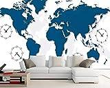 Murando Fotomurales Behang 3D Wallpaper World Map Mural Papel De Parede 3D Habitación Wallpaper Pared 3 D Tv Set Foto Pared Pintura Wallpaper250 * 175Cm