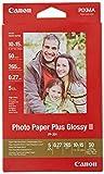 Canon consumible papel fotográfico con brillo plus II PP-201 10x15 cm 50 hojas