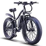 ride66 Bicicletta Elettrica pedalata assistita Adulti Uomo Donna Fat...