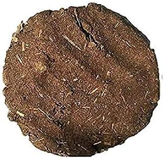 Medsol Gao-Dhan Pure & Organic Desi Cow Dung (Gobar) Cake/Uple/Kande (for Hawan, Pujan & Religious Purpose Set of 3