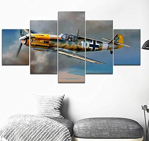 5 Canvas paintings Military War Canvas Printed Painting For Living Room Wall Decor HD Picture Artworks Poster Frameless