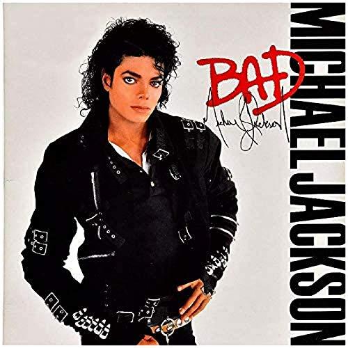 Rzhss Agradable Michael Jackson Bad Art Print Poster Decoración De La Pared Del Hogar Impresión En Lienzo 60X60Cm Sin Marco