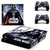 Homie Store PS4 Pro Skin - Ps4 Skins - Ps4 Slim Sticker - Star Wars Vinyl Decal Skin for Sony Playstation 4 Console +2 Controllers Stickers for PS4